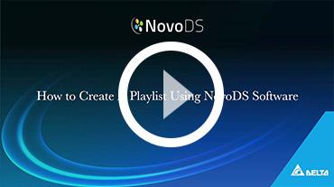 NovoPRO Playlist Editing