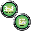 5 year Warranty Parts and Labor - 3year Advanced Replacement